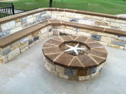 Small Picture Hillside Patio with Fire Pit Gallery Beautiful patio with seat