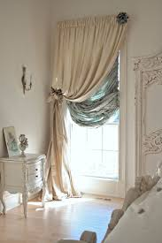Gorgeous French Home House Decor Love The Curtains and Style. Shabby Chic  Glamour, Cream and Duck Egg Blue Window - thinking about this in my closet  room ...