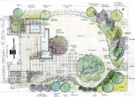 garden design plans. Planning A Garden Layout Landscapes Design Drawings From Our Landscape Plans P