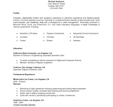Incredible Resume Template For Internship Intern Samples Sample