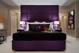 sexy bedroom lighting. purple and black color scheme for a sexy bedroom delight lighting