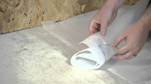 Great How To Install A Vapor Barrier Below Laminate Flooring : Working On Flooring    YouTube Good Looking