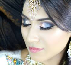 blue turquoise orange smokey eye walima bridal asian indian makeup tutorial you