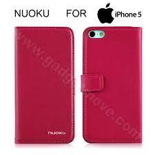 nuoku book stylish premium iphone 5s 5 se flip cover leather case