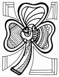 Shamrock Coloring Page Shamrock Coloring Page Spring Easter By Miss Jenny Designs Tpt