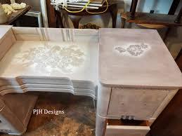 vintage art deco furniture. PJH Designs Hand Painted Antique Furniture: Lavender Dreams Vintage Art Deco Dresser Furniture