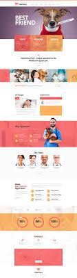 Veterinary Website Design Inspiration Medico Medical Veterinary Psd Template Amp Medical