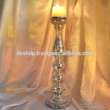 tall gold candle holders vintage style golden gold pillar candle holder with metal polished silver mercury glass candlestick tall gold mercury glass candle