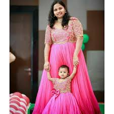 Designer Dresses For Mother And Daughter Buy Mother Daughter Dresses For Indian Weddings