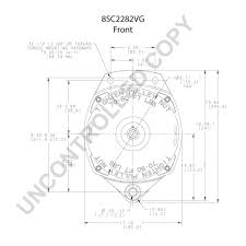 8sc2282vg front dim drawing