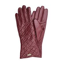 Barbour - Ladies Quilted Leather Gauntlet Gloves in Red ... & Barbour - Ladies Quilted Leather Gauntlet Gloves in Red – Sinclairs Online Adamdwight.com
