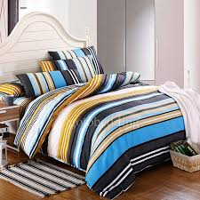 boys full size comforter sets sports best colorful cool striped for 2