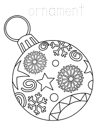 Displaying 15 ornament printable coloring pages for kids and teachers to color online or download. Christmas Ornament Coloring Pages Best Coloring Pages For Kids