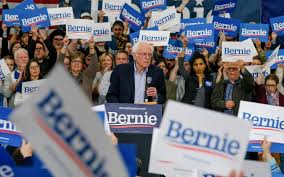 Sanders declares victory in New Hampshire primary   dpa International