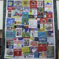 Custom T-shirt Quilts - Timeless Thread Design & Custom Sports T-shirt Quilt Adamdwight.com