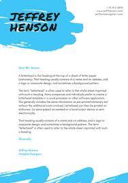 personal letterhead personal letterhead template 15 creative professional letterhead