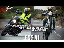 harley davidson 750 street vs royal