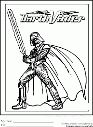Small Picture Coloring Pages Darth Vader Head Coloring Pages Printable Coloring