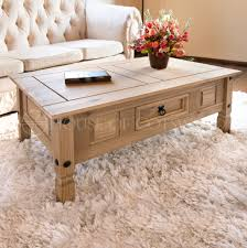 Mexican Pine Coffee Table Coffee Table Corona Mexican Pine Solid Wood Rustic Design Ebay