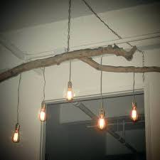 how to make a tree branch chandelier diy rustic chandelier diy tree branch chandelier tree branch