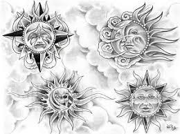 Symbol Nebeských Těles Měsíc Dovol Sám Sobě Svobodně žít