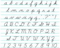 Lowercase Cursive Alphabet Worksheet Cursive Alphabet Capitals Cursive Alphabet Capital And Lowercase