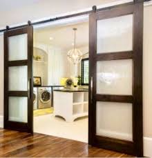 sliding barn doors glass. Plain Barn Modern 3 Pane Glass Sliding Barn Door With Doors E