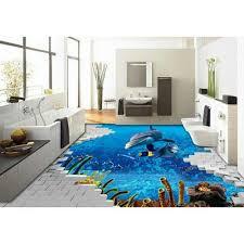 bathroom floor tile blue. 3D Floor Tiles Bathroom Tile Blue I