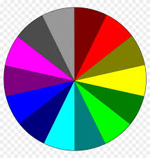 Rainbow Pie Chart Colors Circle Rgb Rainbow Colors Png Image 1 20 Pie Chart