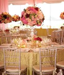centerpieces for round tables wedding table decoration diy quinceanera