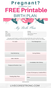Simple Birth Plan Worksheet Pin On Childbirth Labor Delivery Group Board