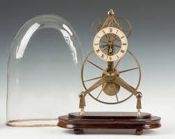 english large wheel brass skeleton