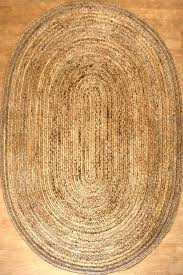 cozy oval jute rug for your residence idea braided