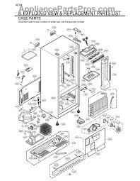 lg refrigerator parts diagram. part diagram lg refrigerator parts