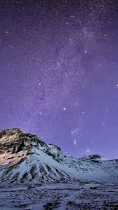 iphone 6 wallpaper. Simple Wallpaper Snow Mountain Stars Wallpaper IPhone 6 Plus Preview On Iphone 2