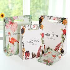 <b>10pcs</b>/pack Wealthy Bird Flamingo Gift Bag Handbag Sticking ...
