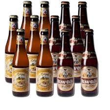 lot of belgian beers 6 bottles of kwak 33 cl 6 bottles of karmeliet