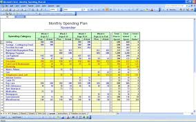Personal Excel Budget Personal Expenses Spreadsheet Income Monthly Excel Budget