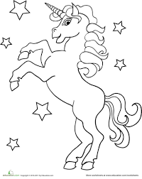 Unicorn Coloring Pages For Girls Jennymorgan The Most Cute Unicorn