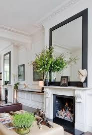 cÓmo hacer que mi casa parezca elegante mirror above fireplacefireplace