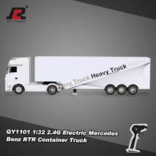 G Electric White Ruichuang Qy1101 1 32 24g Electric Mercedes Benz Container