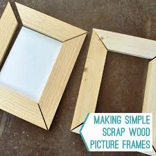 simple wood picture frames. Some Easy Wood Frames For Her Homemade Artwork. We Did It Partially Because, Well, We\u0027re Cheap. And Because Wanted To See How Truly Simple Picture ,
