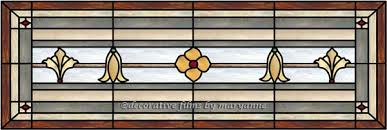 transom window stained glass door panel transom faux privacy stained glass clings