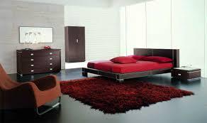 Modern Black And White Bedroom Interior Interesting Red Black And White Bedroom Decoration Using