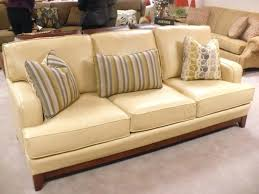 yellow leather sofa for couch er italian