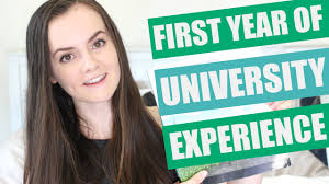 first year of university college experience first year of university college experience