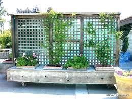 standing garden free standing garden trellis screens privacy metal outdoor standing planters
