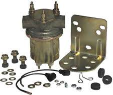 carter marine fuel pump carter electric fuel pump p4389 marine 4 6 psi 72 gph marine approved us mfg