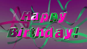 happy birthday pink and green birthdayloops happy birthday pink and green ribbons youtube