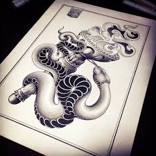 змея татуировка эскиз 12 змеи тату эскизы фото тату тату